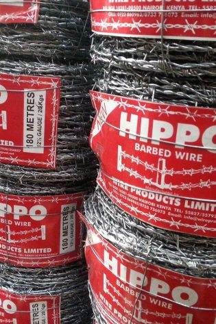 Hippo Barbed Wire