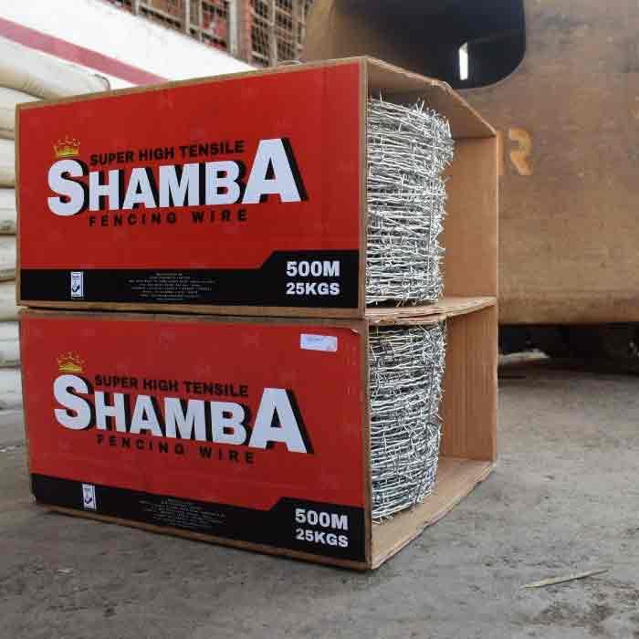 Shamba Barbed wire